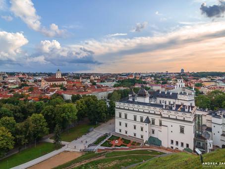 VILNIUS, LA CAPITALE DELLA LITUANIA: REPUBBLICHE BALTICHE 1.0