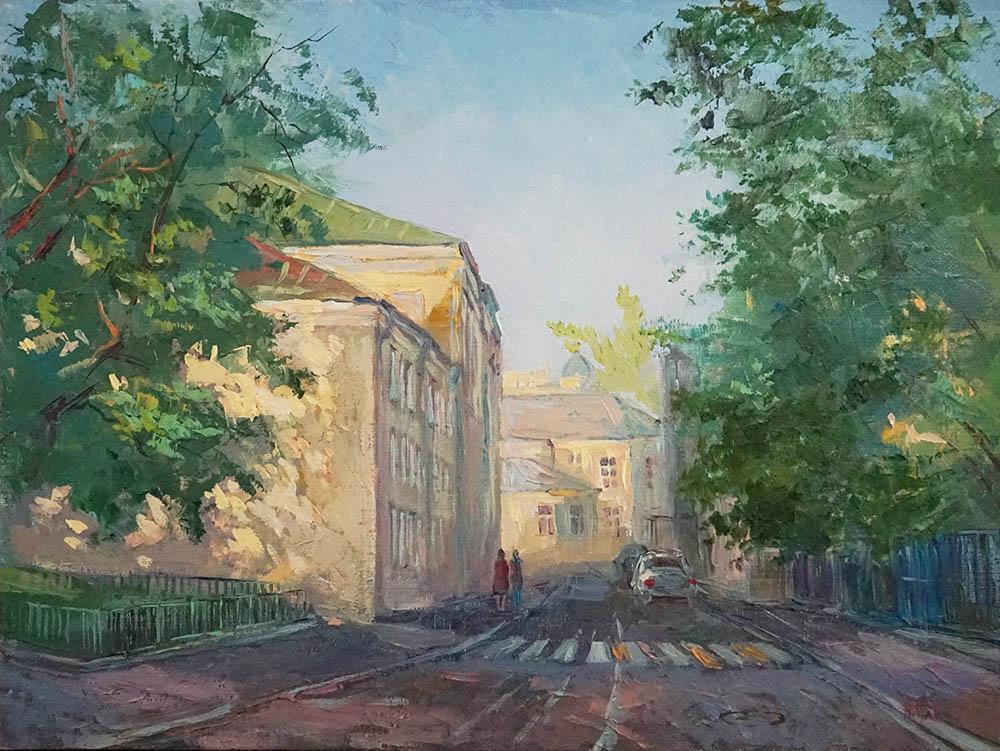 Нина Панюкова Хлебный переулок 30х40 х м