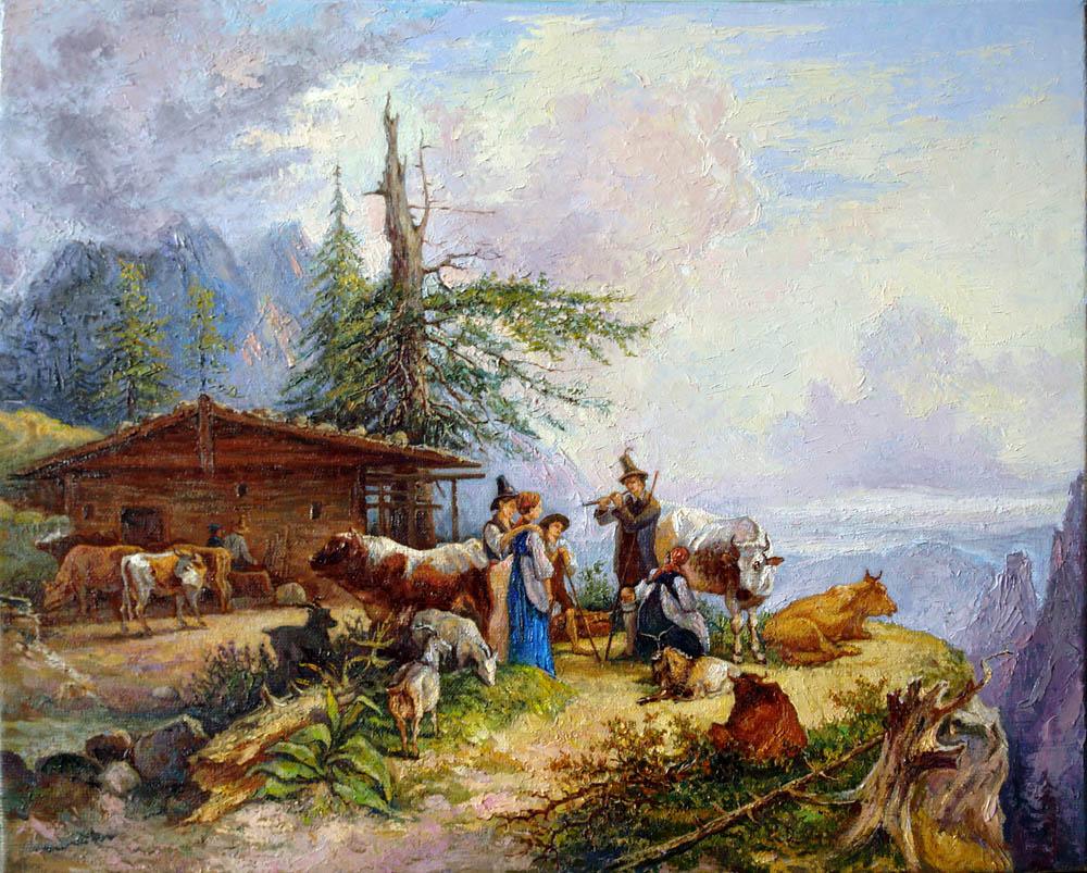Александр Панюков Копия . 40х50, х. м.