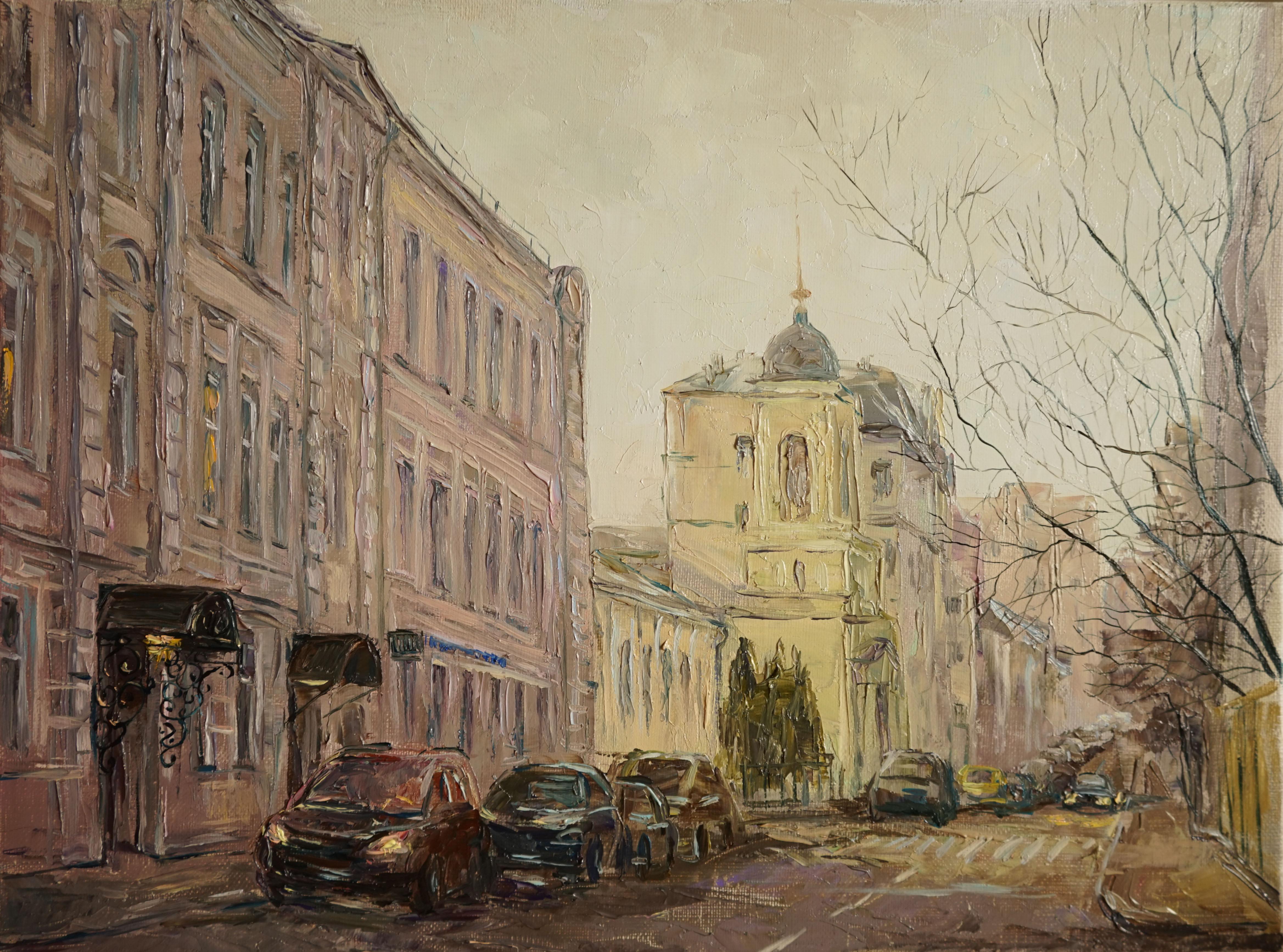 Нина Панюкова Большой Афанасьевский переулок 30х40 х м
