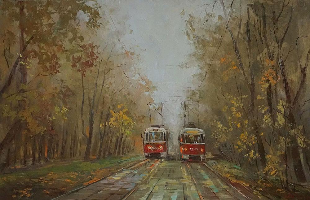 Нина Панюкова Осень 40х60 х м
