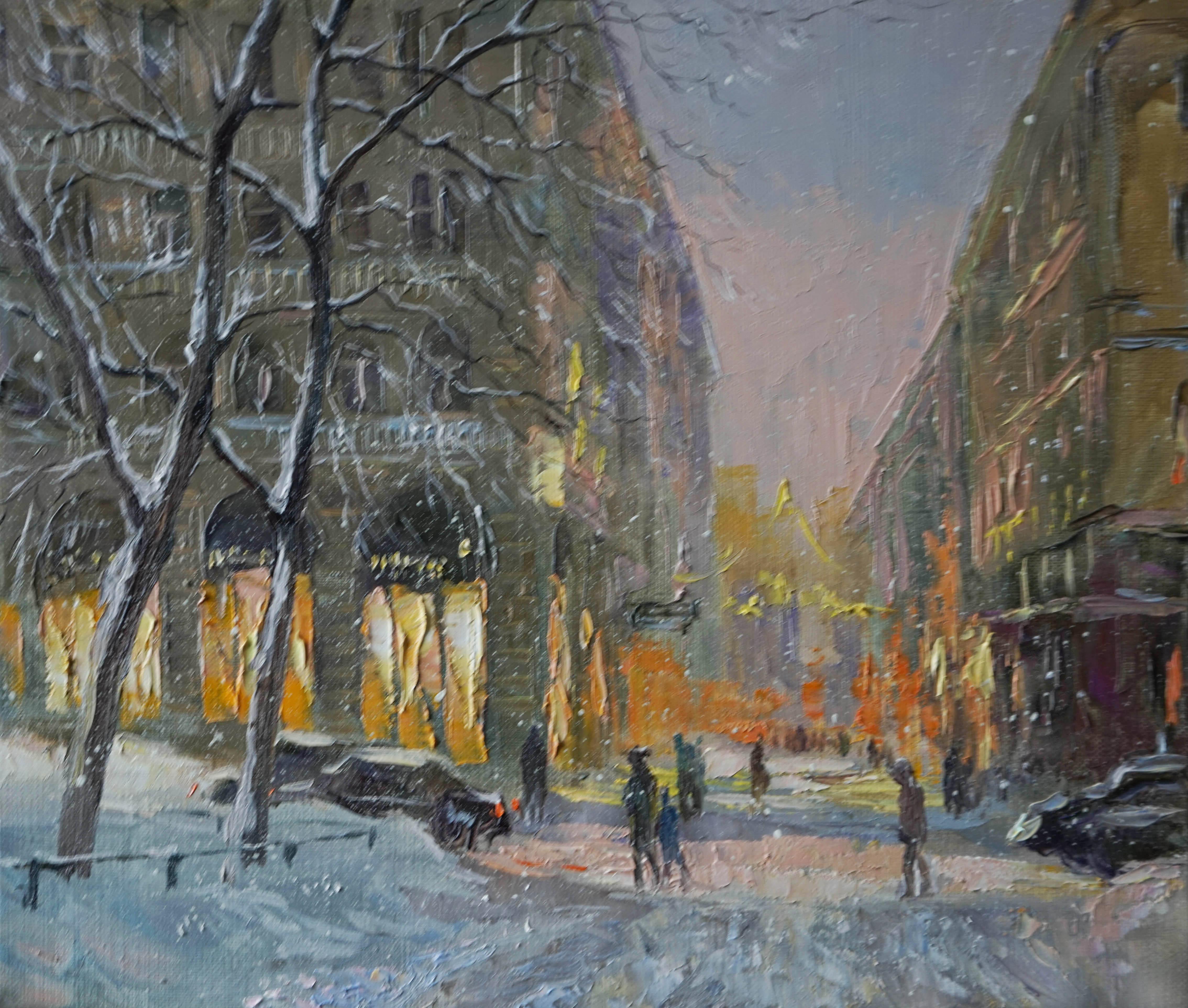 Нина Панюкова Зима будет снежной 30х35 х м