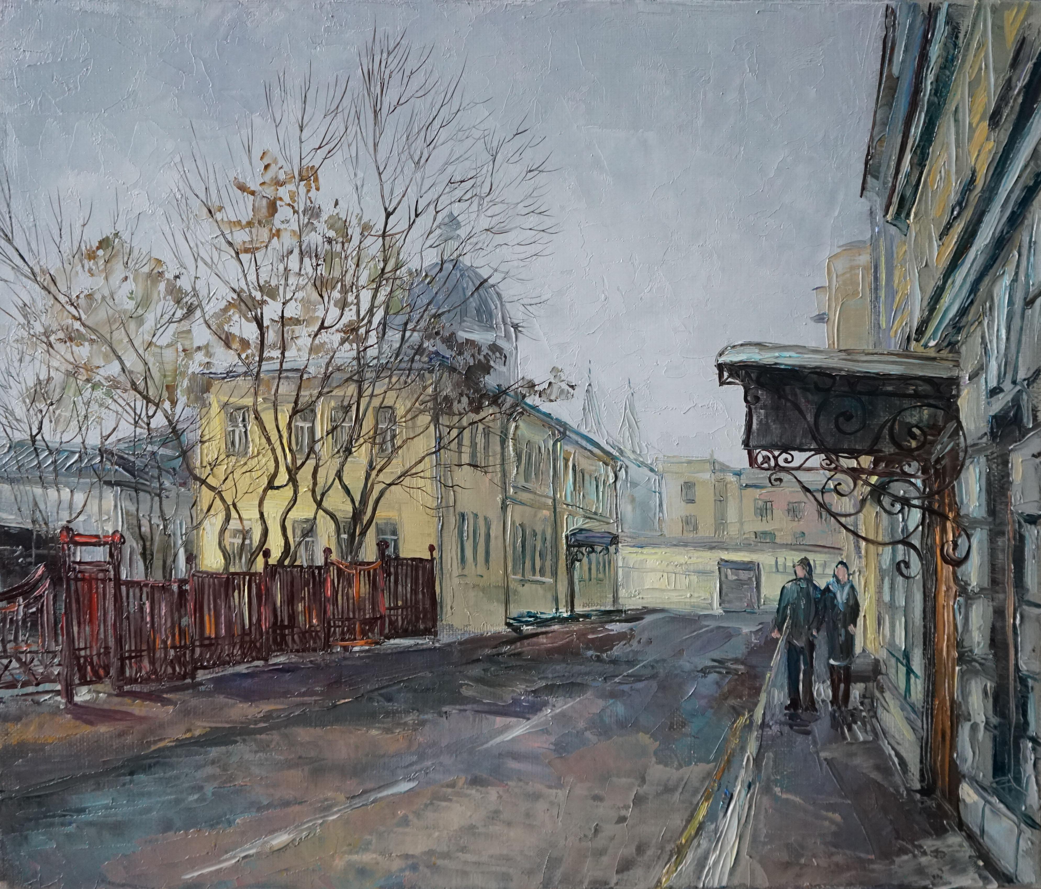 Нина Панюкова Хохловский переулок 30х35 х м