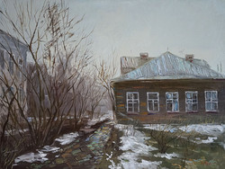 Нина Панюкова Отчий дом 30х40 х м