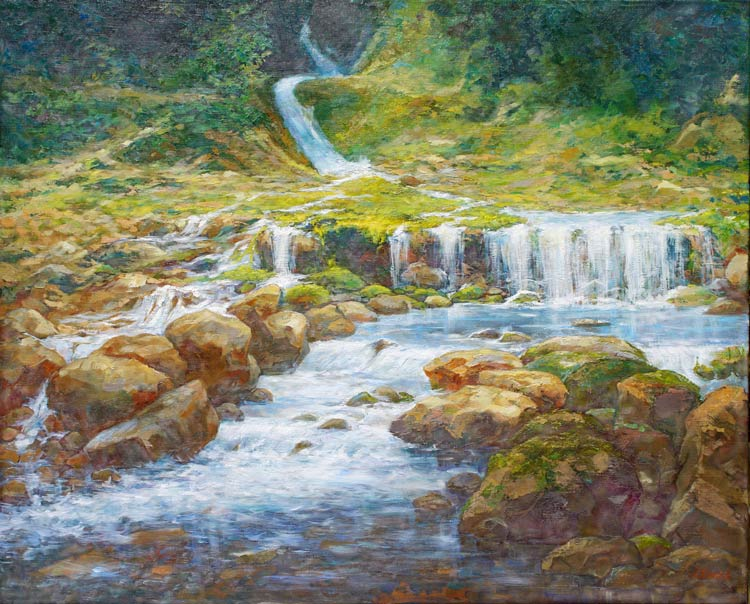 Александр Панюков Живая вода. 80х100, х. м.