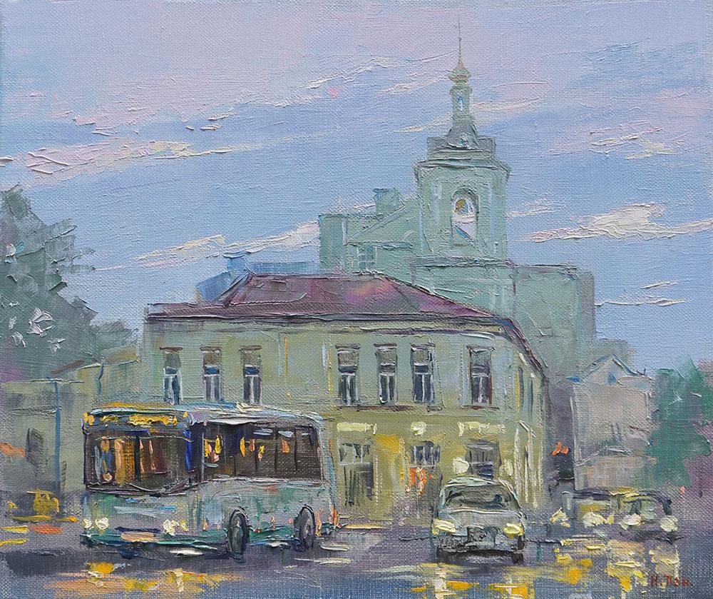 "Нина Панюкова ""Площадь Земляной Вал""."