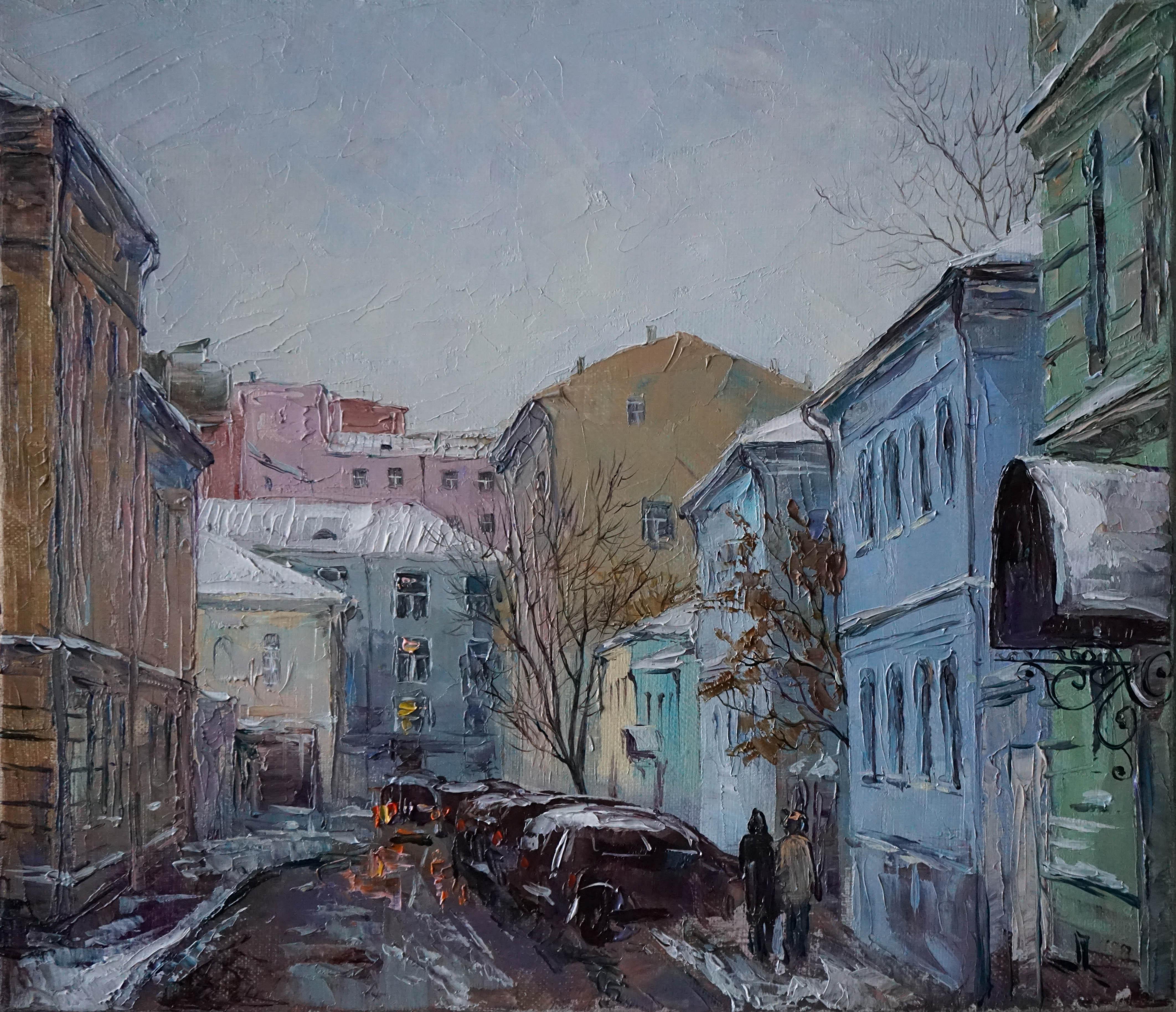 Нина Панюкова Тихий переулок старой Москвы 30х35 х м