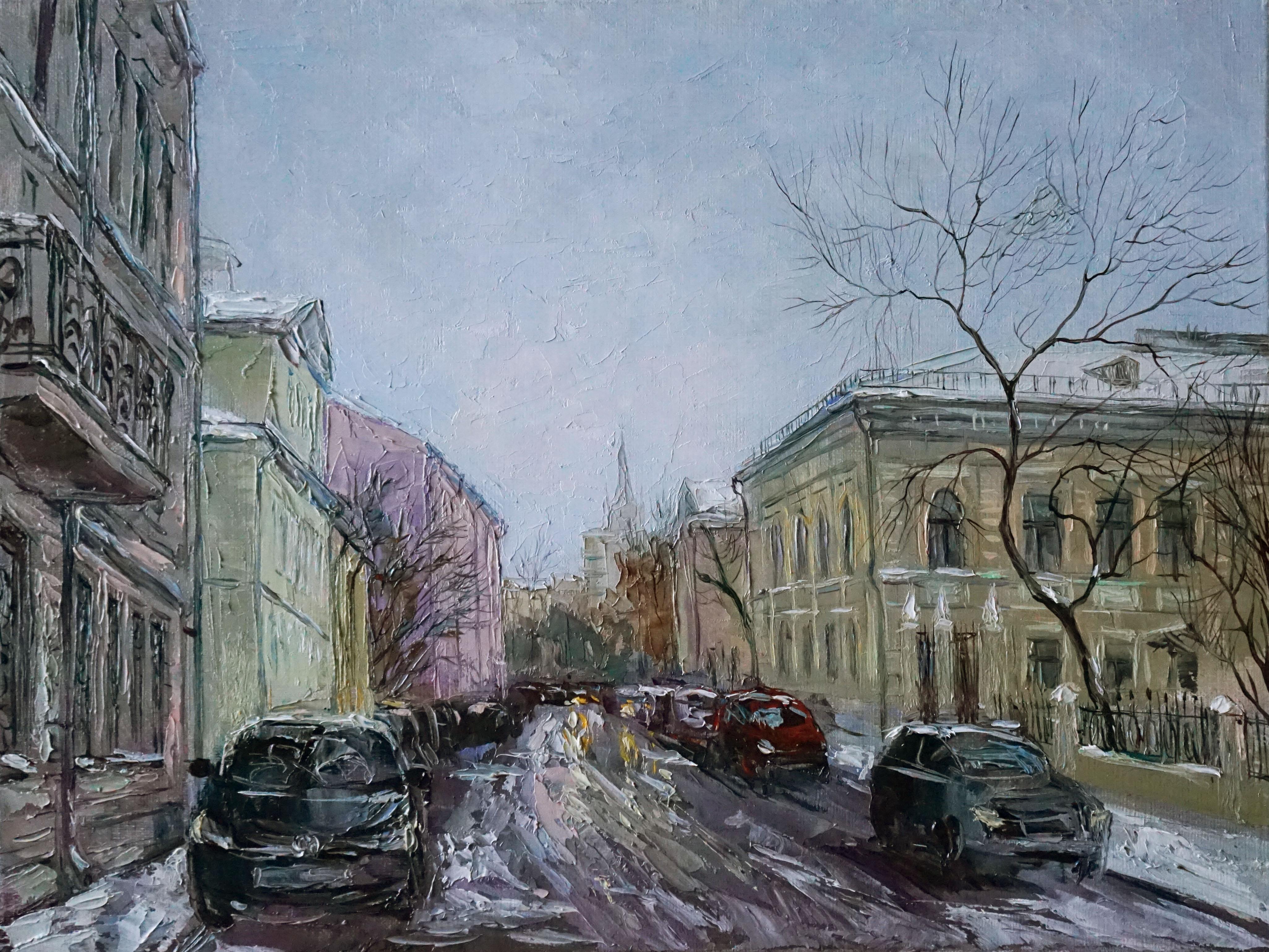 Нина Панюкова Архангельский переулок 30х40 х м