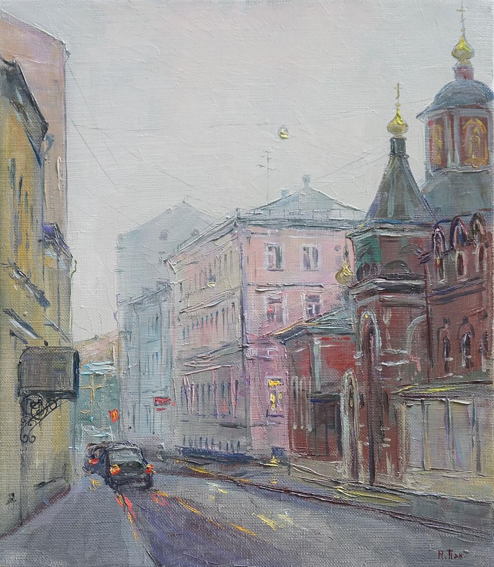 """Нина Панюкова """"Подколокольный переулок""""."""