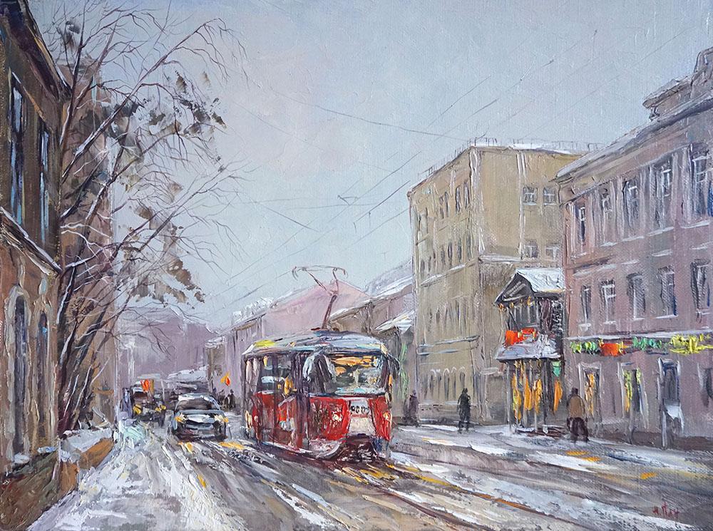 Нина Панюкова Улица Бауманская 30х40 х м