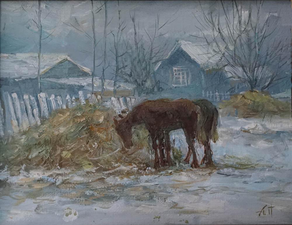 Александр Панюков Ароматное сено.х. м., 25х30