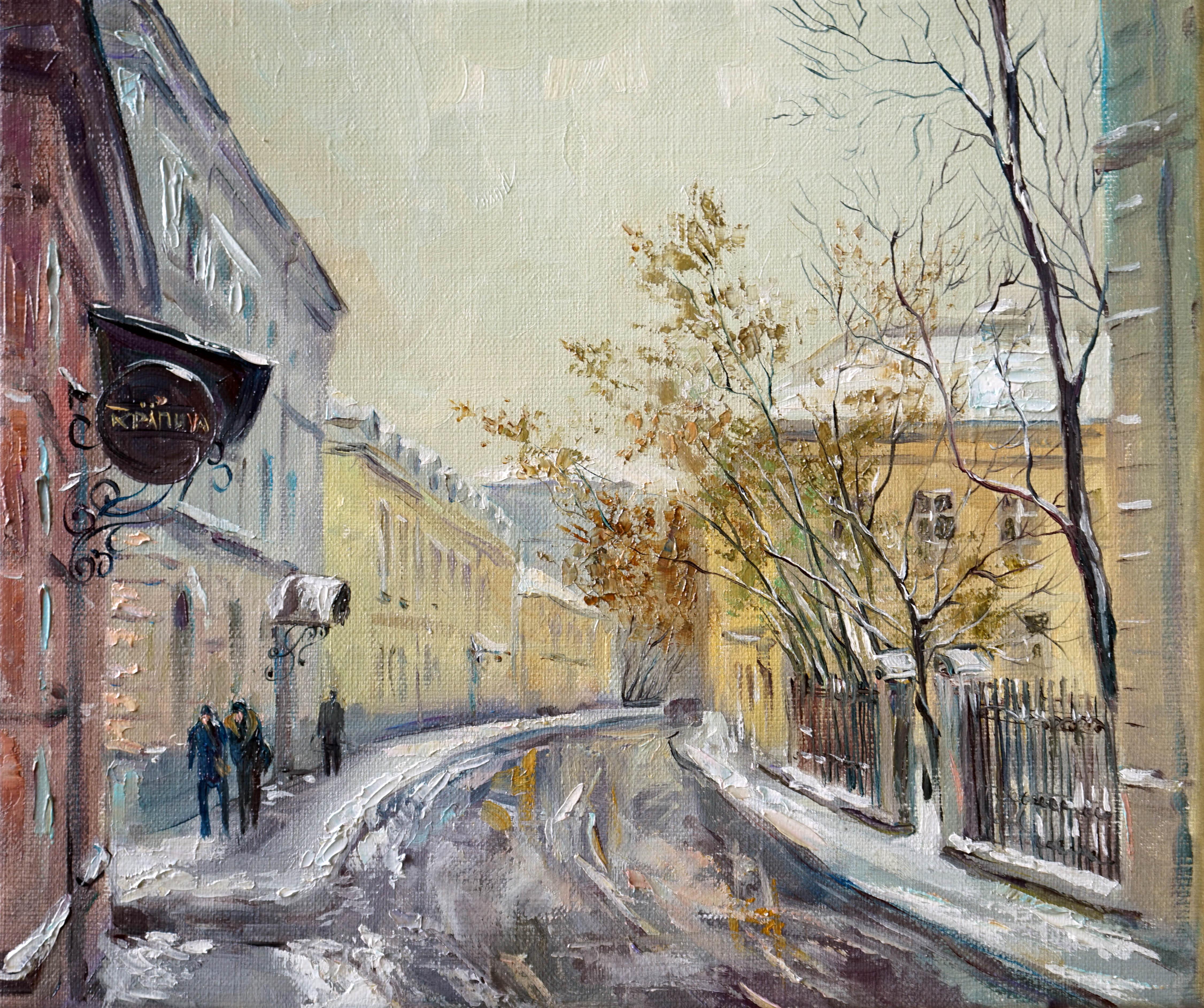 Нина Панюкова Потаповский переулок 28х33 х м