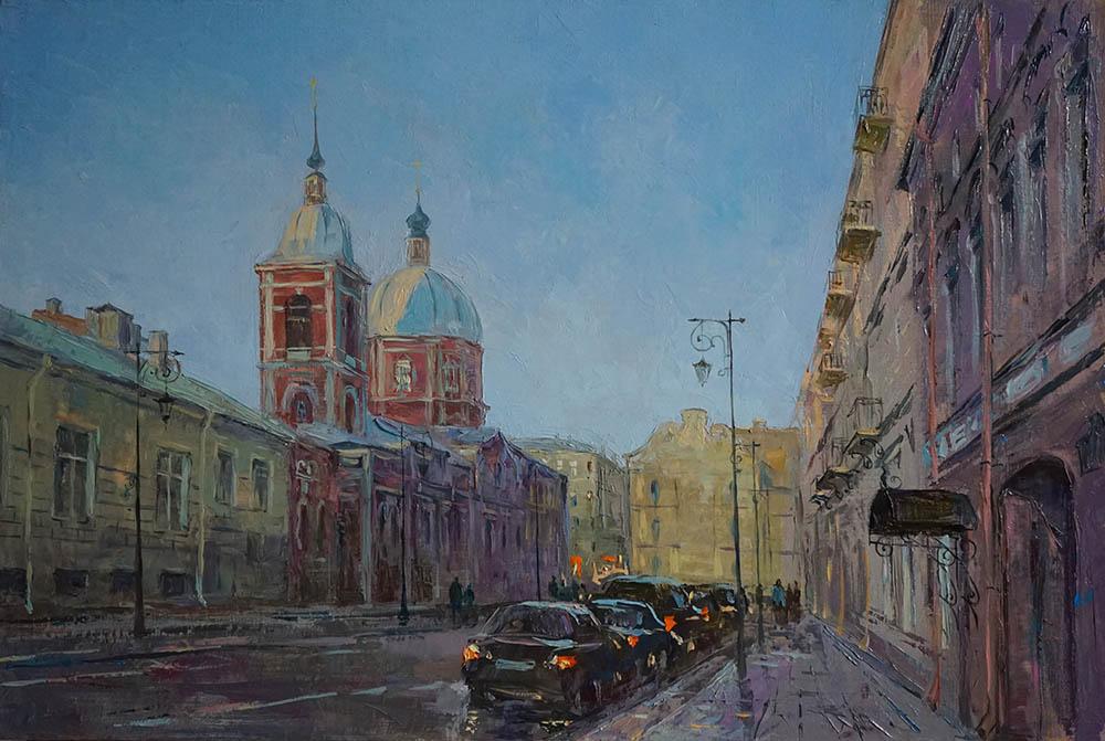 Нина Панюкова Улица Пестеля Санкт-Петербург 40х60 х м