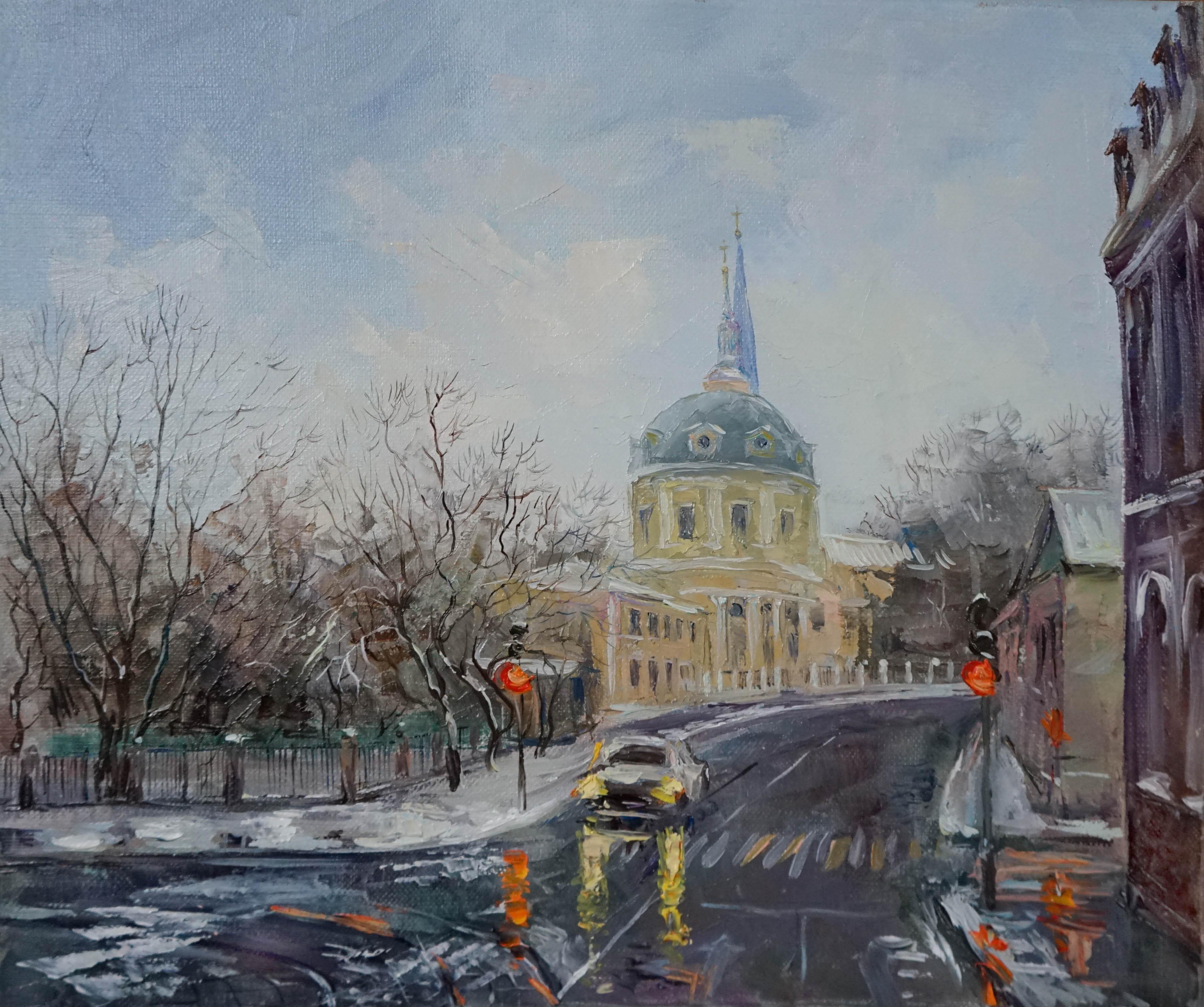 Нина Панюкова Улица Радио 30х35 х м