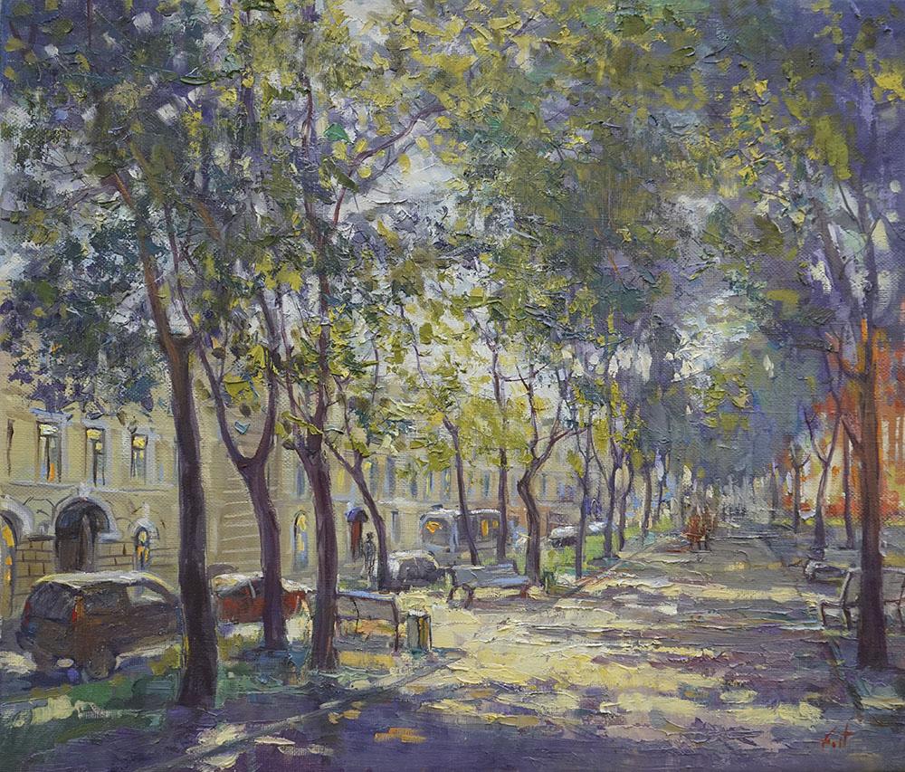 Александр Панюков Конногвардейский бульвар 35х40 х м