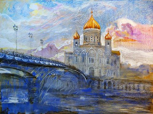 "Дарья Воробьева  ""Храм Христа Спасителя"""