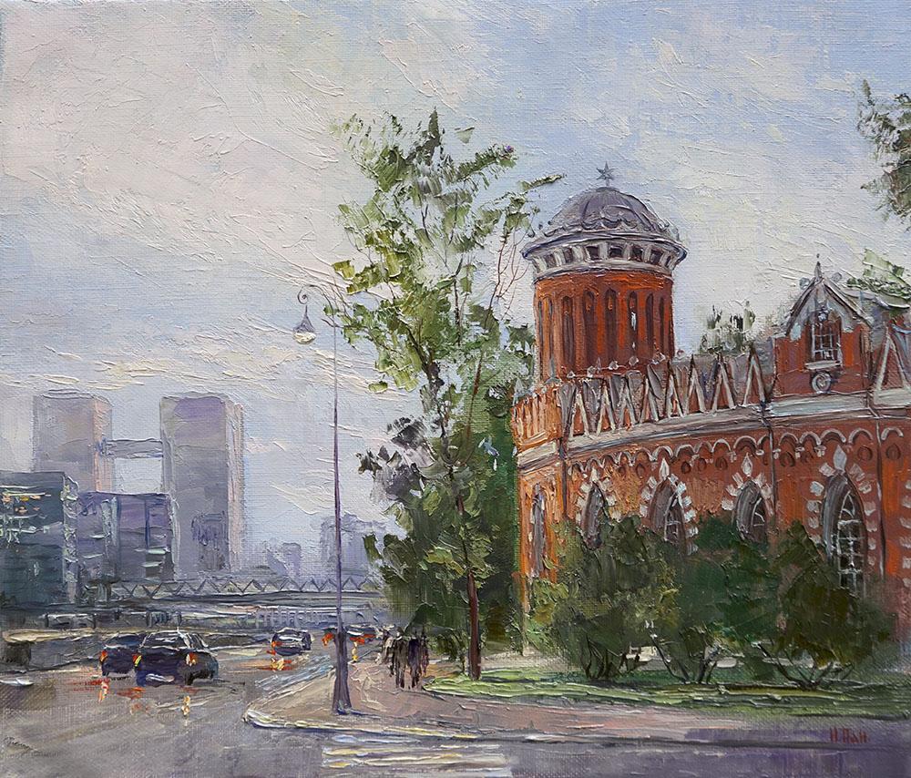 Нина Панюкова Петровский путевой дворец 30х35 х м