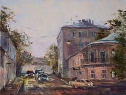 Нина Панюкова Хохловский переулок 30х40 х м