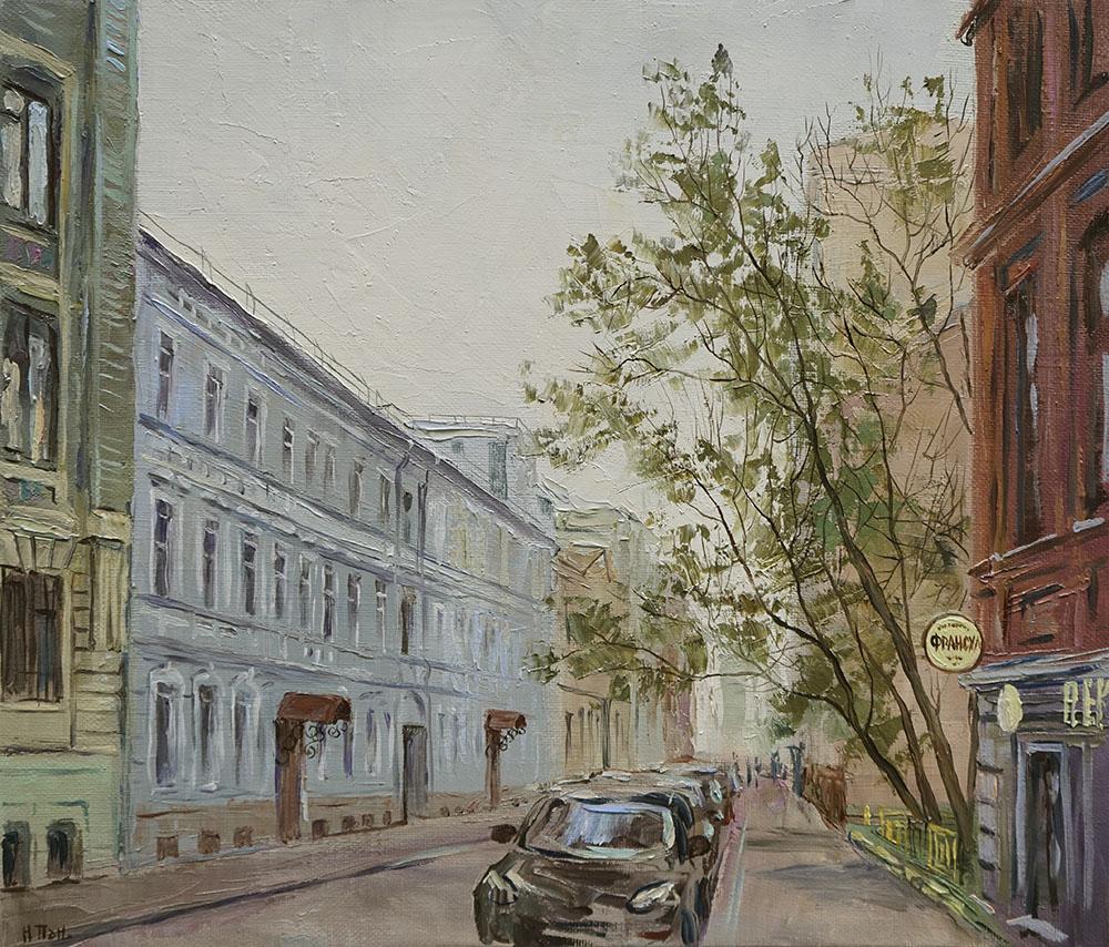 """Нина Панюкова """"Печатников переулок""""."""