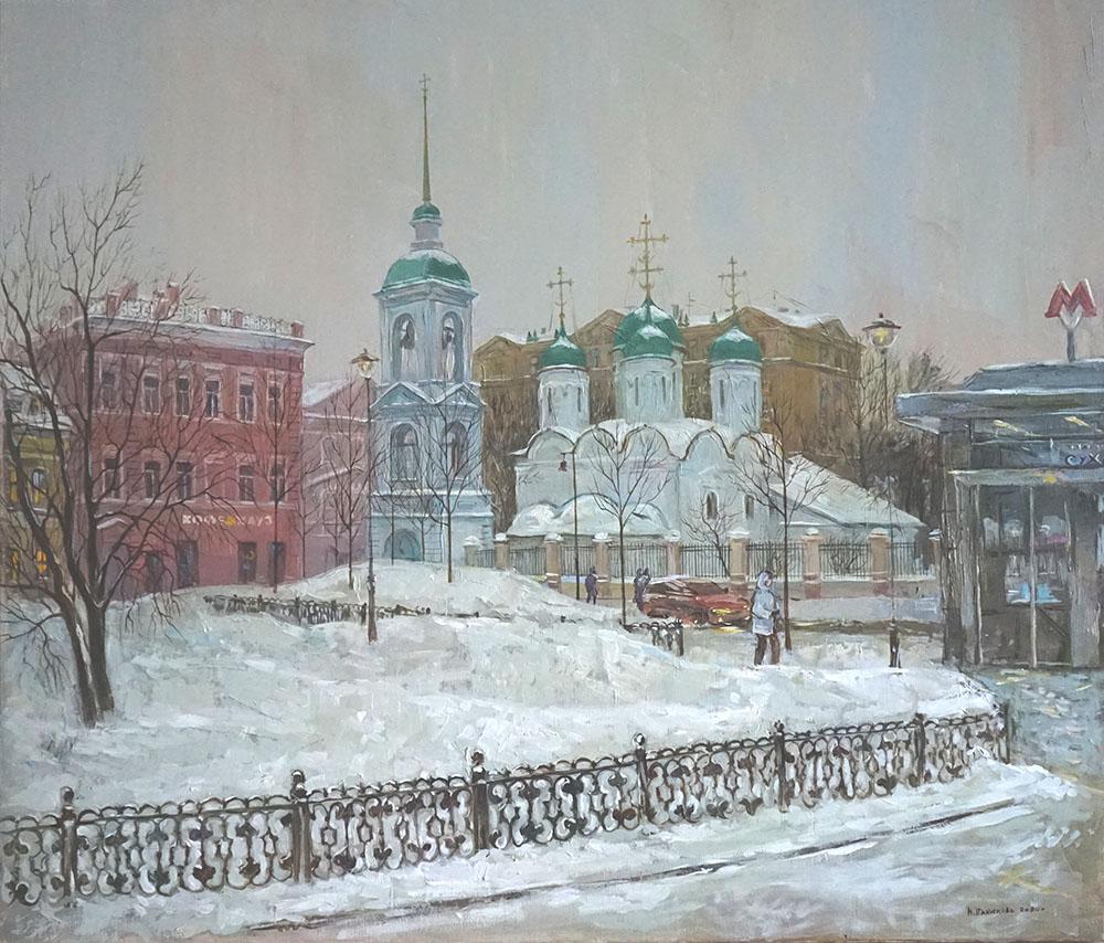 """Нина Панюкова """"Большая Сухаревская площадь."""""""