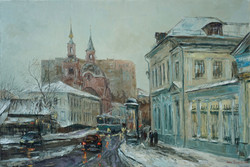 Нина Панюкова Новая Басманная улица 40х60 х м