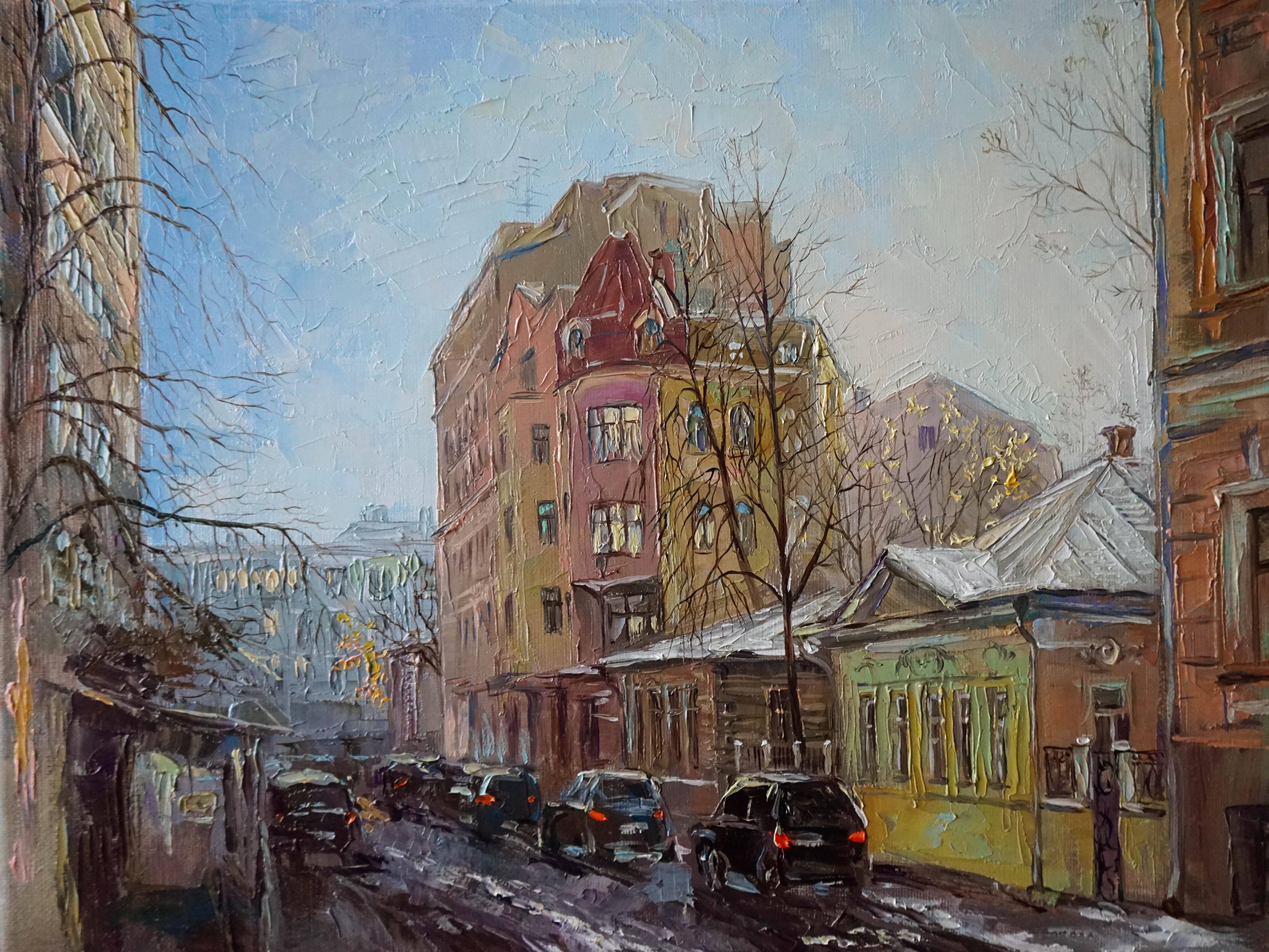 Панюкова Нина Мансуровский В ожидании снега 30х40 х м
