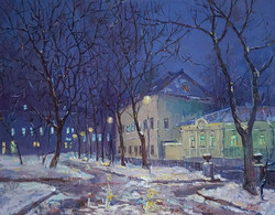 Александр Панюков Елоховская площадь 30х40