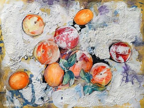 Снежные персики и абрикосы