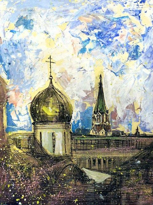 Кусочек Московского Кремля