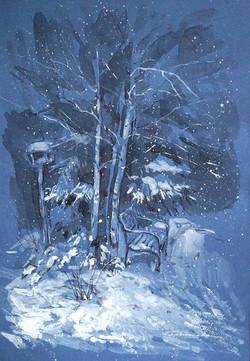 "Нина Панюкова ""Снежный вечер""."