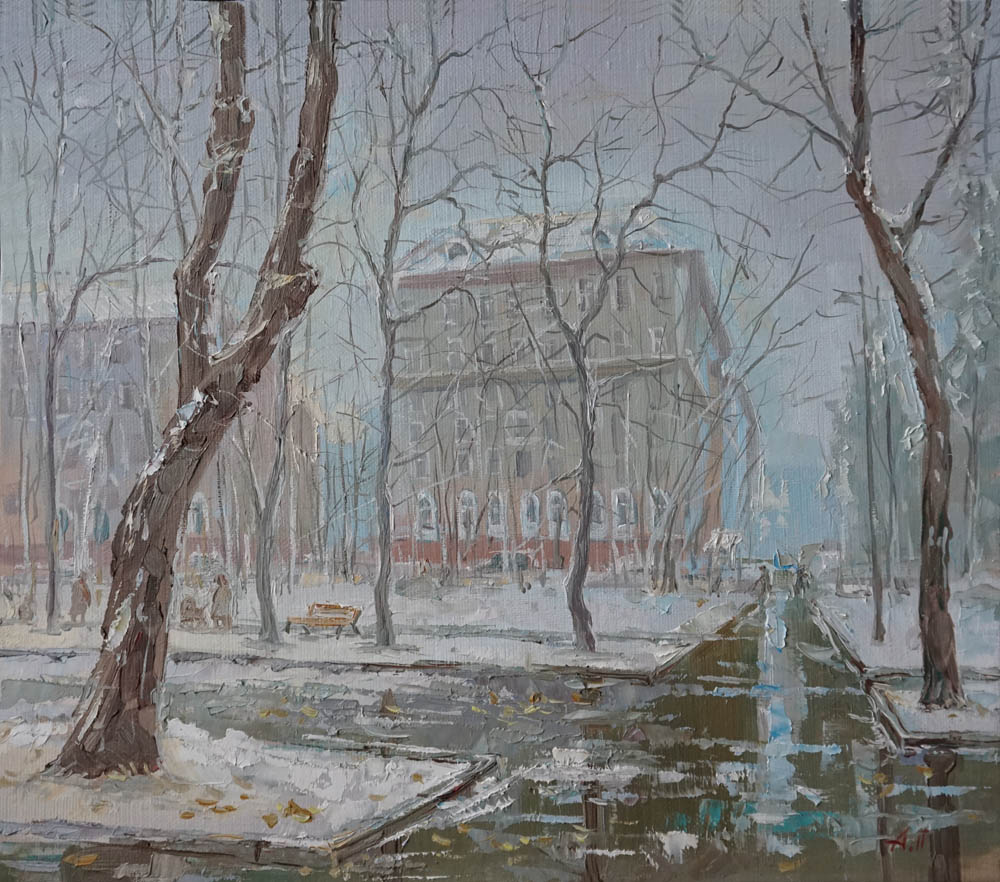 Александр Панюков Новопесчаная улица 30х33 х м