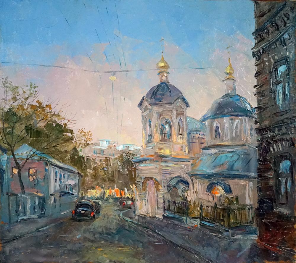 Нина Панюкова Крапивинский переулок 35х40 х м