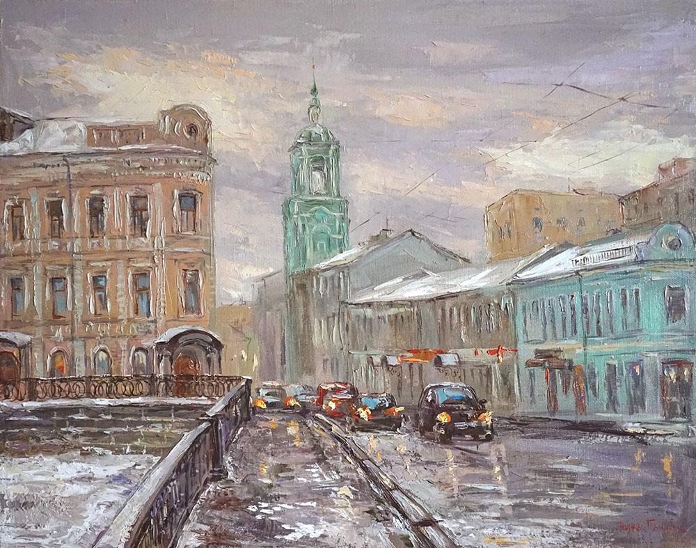 Нина Панюкова Пятницкая улица 40х50 х м