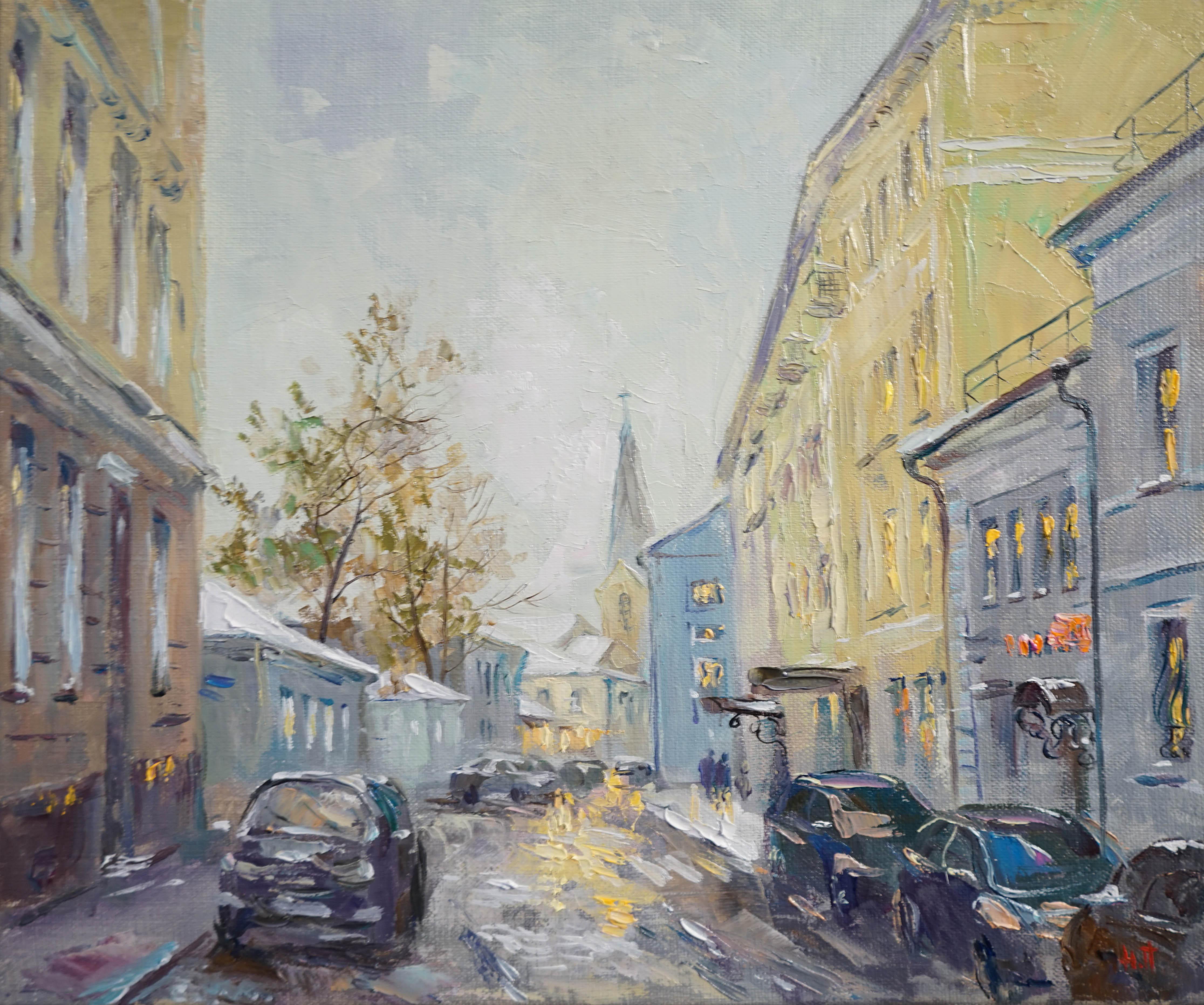 Нина Панюкова Армянский переулок 30х35 х м
