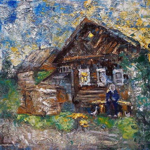 Василево. Любимая бабушка