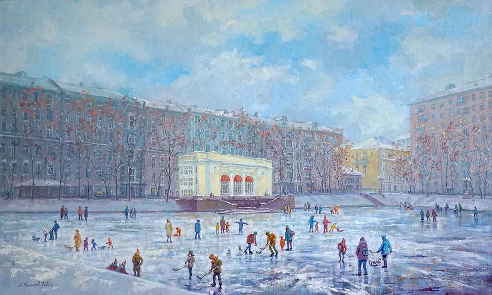 """Александр Панюков """"Поэзия московской зимы."""""""