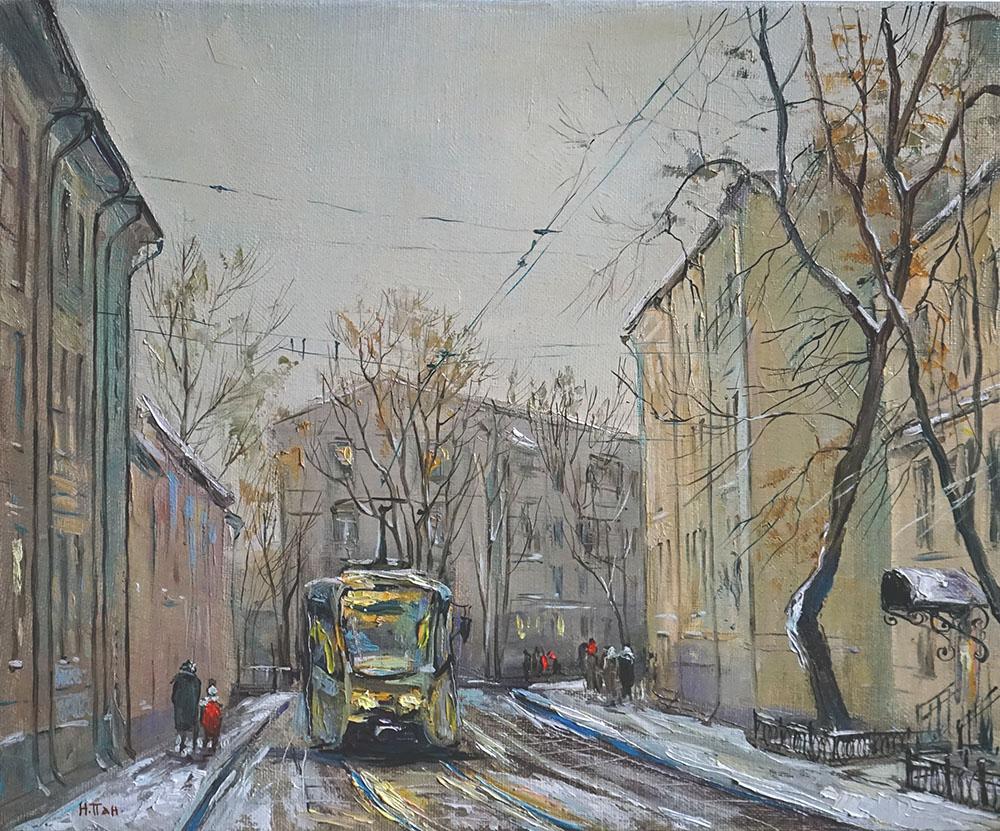 """Нина Панюкова """"Сыромятнический проезд""""."""