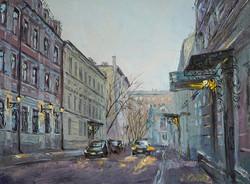 Нина Панюкова Казарменный переулок 30х40 х м
