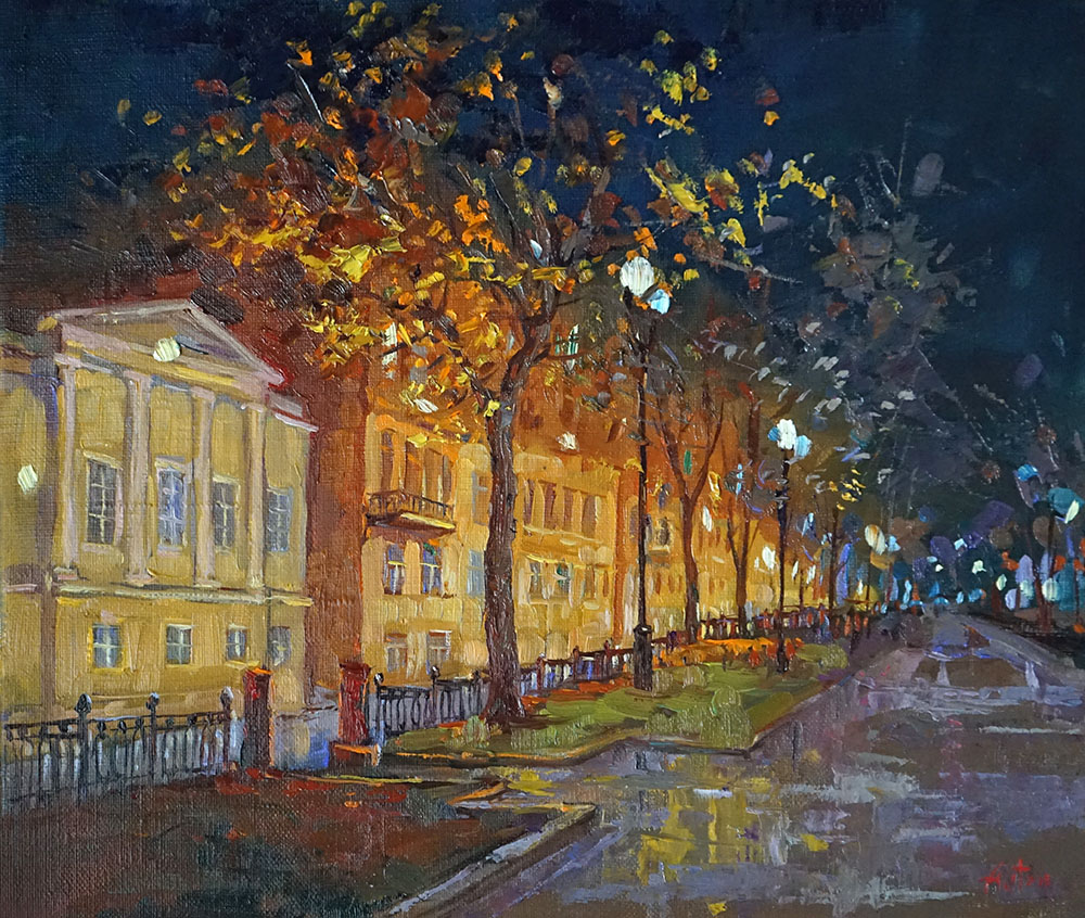 "Александр Панюков ""Рождественский бульвар""."
