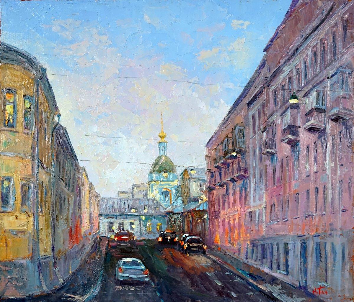 Нина Панюкова Петропавловский переулок. х. м. 35х40