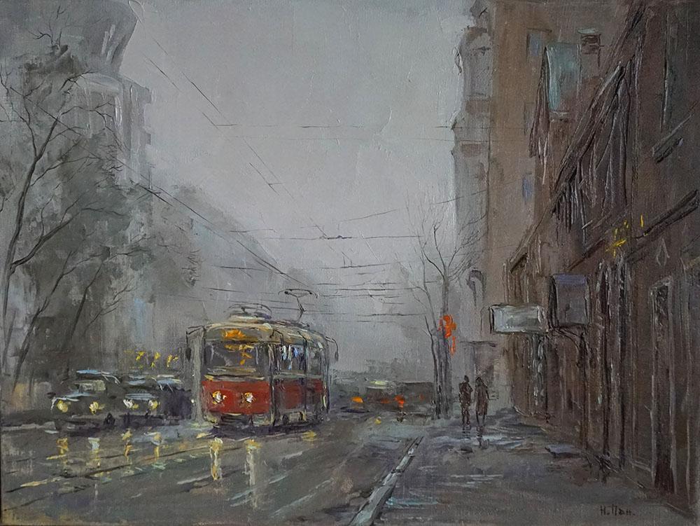Нина Панюкова Воскресное утро 30х40 х м