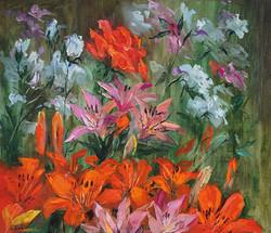 "Нина Панюкова ""Цветы в моём саду."""