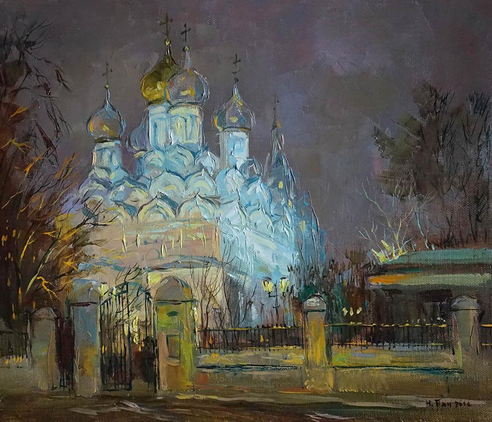 """Нина Панюкова """"Церковь Святого Николая на Малой Ордынке""""."""