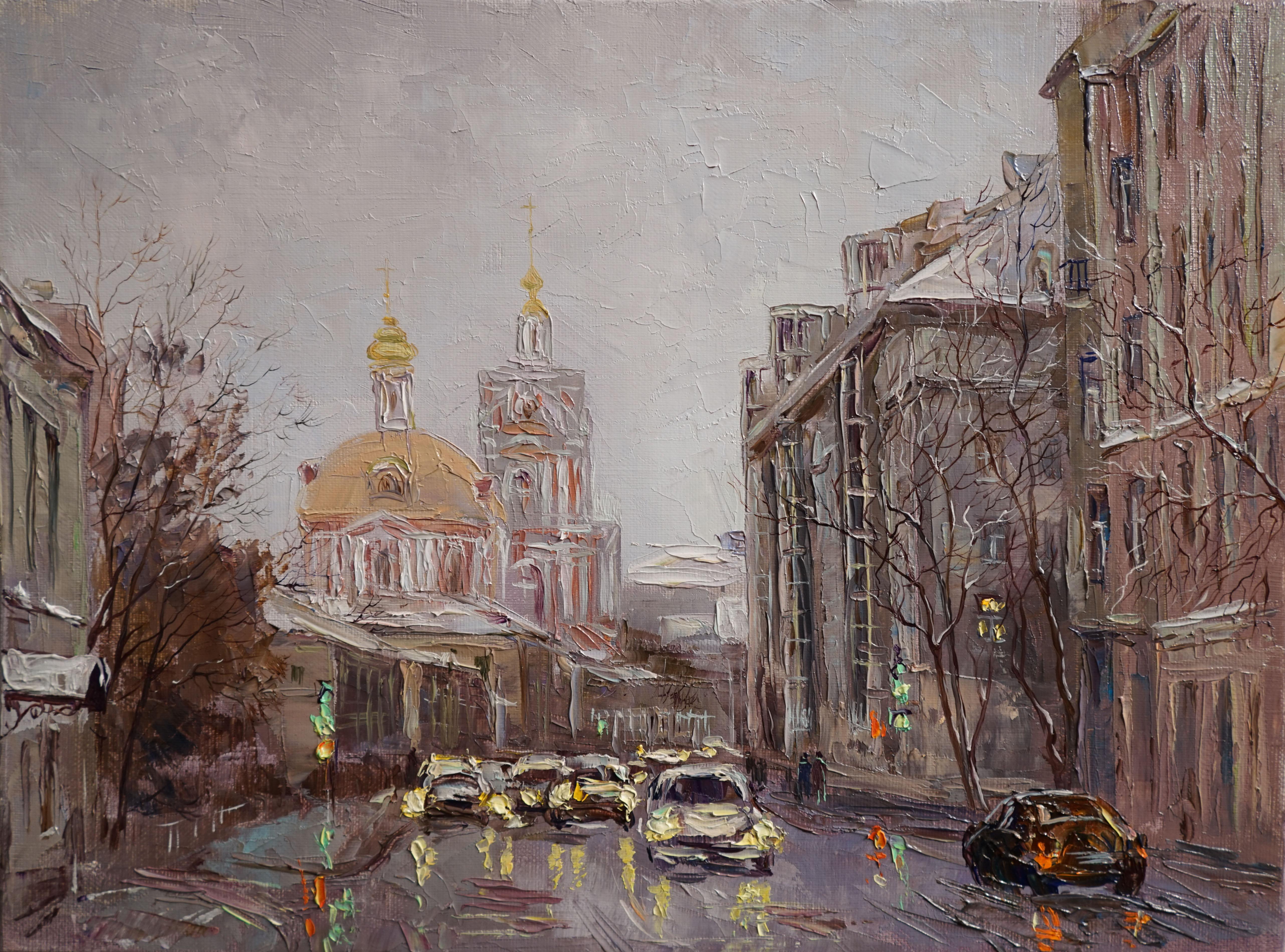 Нина Панюкова Старая Басманная улица 30х40 х м