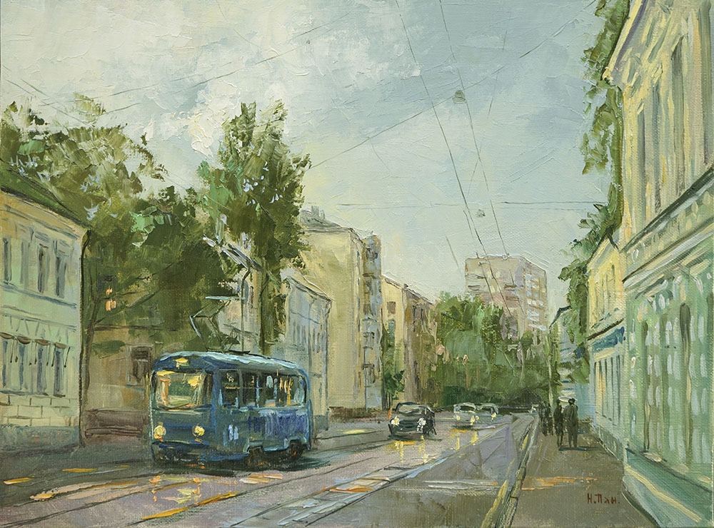 Нина Панюкова Улица Новокузнецкая 30х40 х м