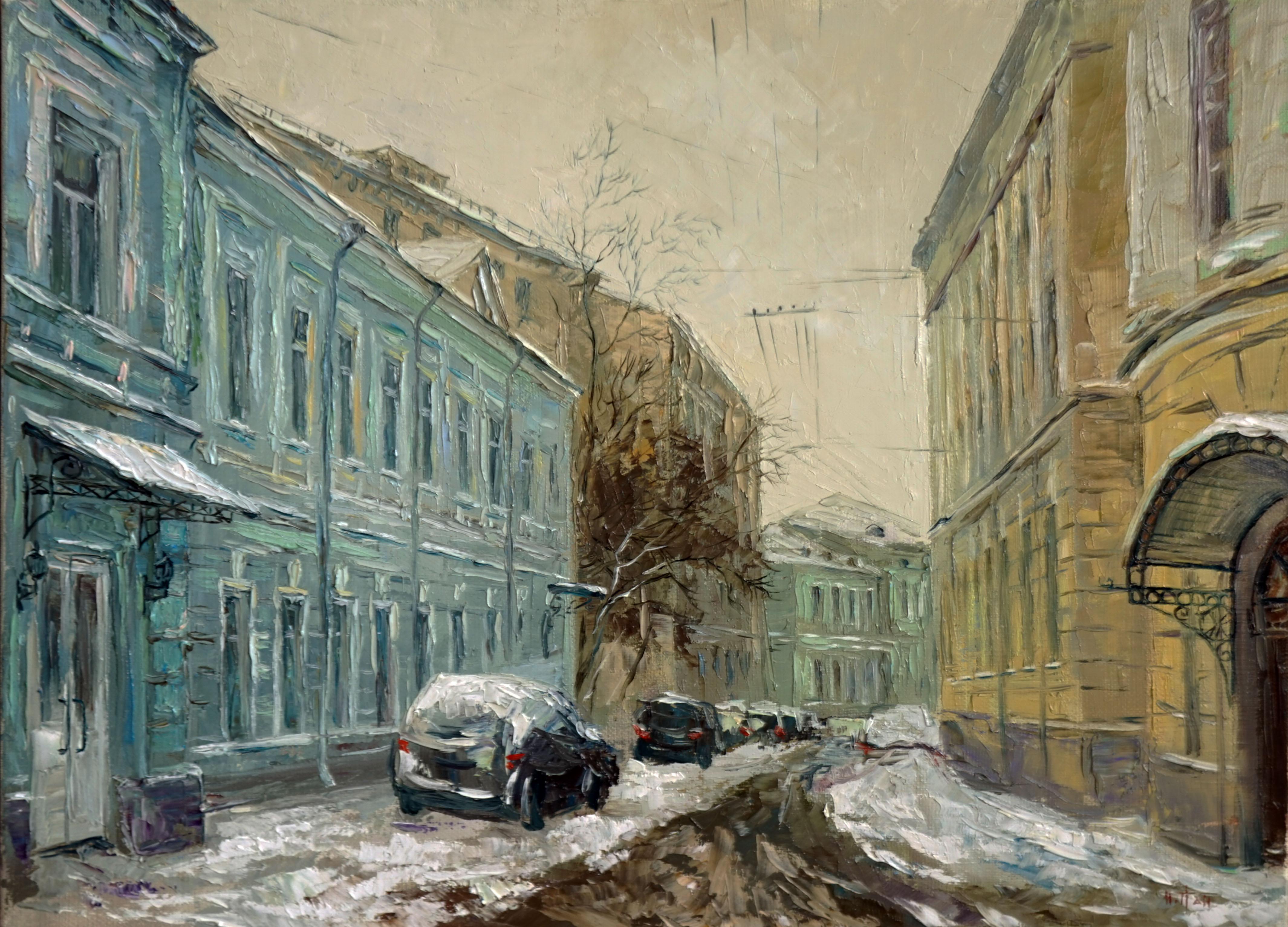 Нина Панюкова Подсосенский переулок 30х40 х м