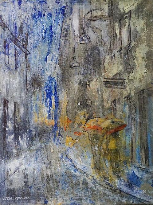 Дождливый денек в Турине