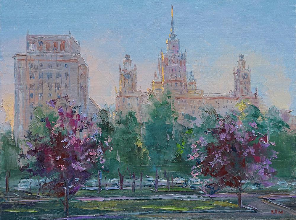 "Нина Панюкова ""Университет в цвету."""