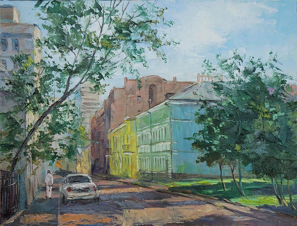 Нина Панюкова Трубниковский переулок 30х40 х м
