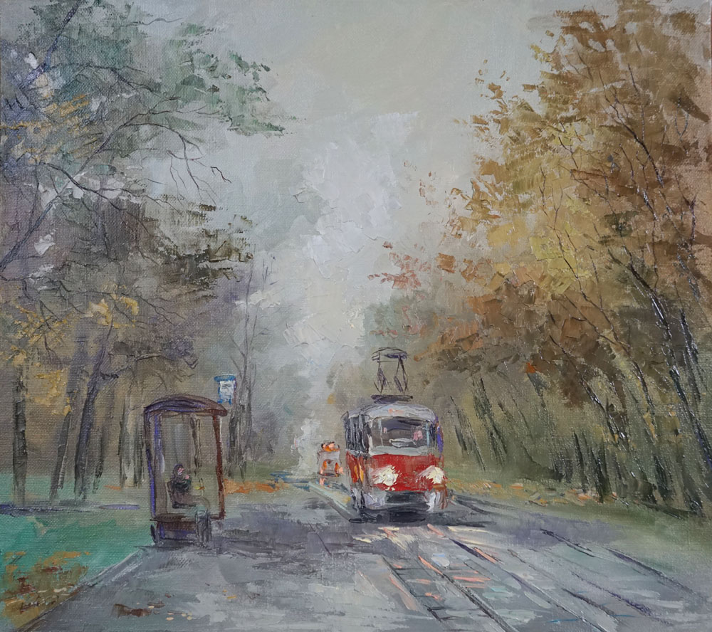 Нина Панюкова Начало ноября 35х40 х м